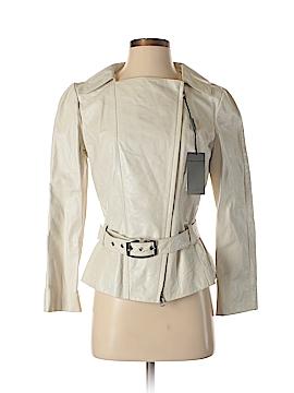 Alberta Ferretti Collection Faux Leather Jacket Size 42 (IT)