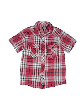 Dickies Short Sleeve Button-Down Shirt Size 5/6
