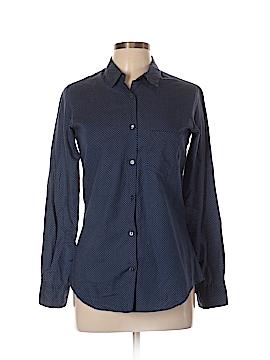 Barneys New York Long Sleeve Button-Down Shirt Size 40 (FR)