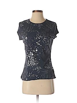 Elie Tahari Short Sleeve T-Shirt Size M