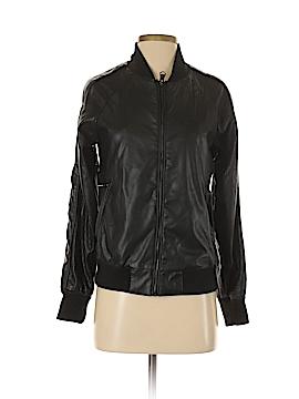 Nanette Lepore Faux Leather Jacket Size S