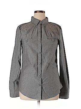 Olsenboye Long Sleeve Button-Down Shirt Size XL