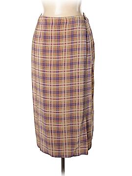 Charter Club Silk Skirt Size 16
