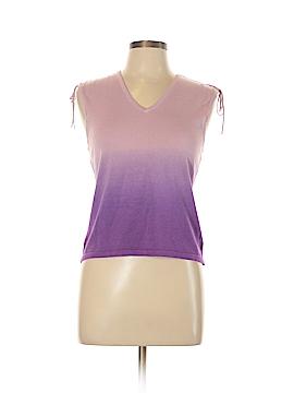 Nine & Company Sleeveless Silk Top Size L (Petite)