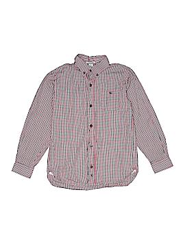 Kitestrings Long Sleeve Button-Down Shirt Size 8