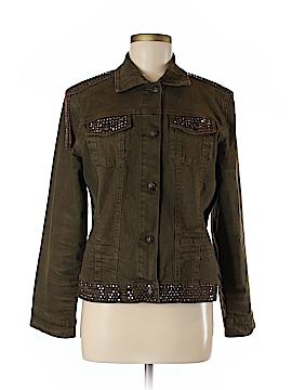 DG^2 by Diane Gilman Denim Jacket Size M