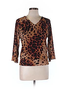 Jones New York 3/4 Sleeve Blouse Size L (Petite)