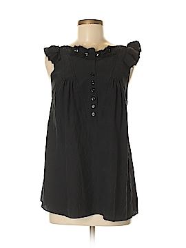 Mayle Short Sleeve Silk Top Size 8
