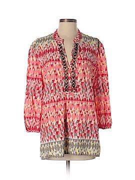 JM Collection 3/4 Sleeve Blouse Size 10