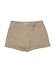 New York & Company Women Khaki Shorts Size 0