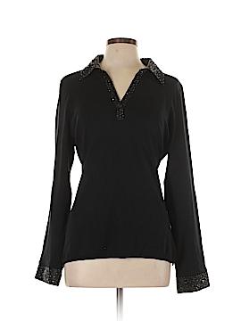 Style&Co Long Sleeve Silk Top Size XL