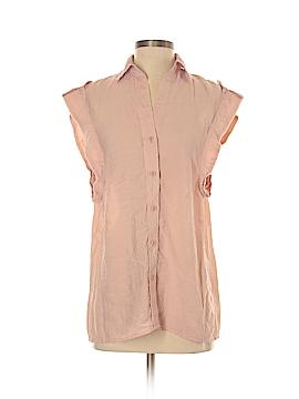 BCBGMAXAZRIA Short Sleeve Button-Down Shirt Size XS
