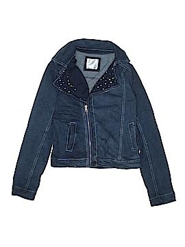 Justice Denim Jacket Size 18