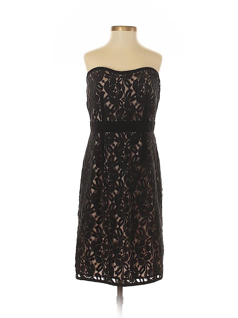 Ann Taylor LOFT Solid Black Cocktail Dress Size 0 - 74% off | thredUP
