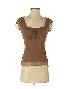 Weston Wear Short Sleeve Silk Top Size S