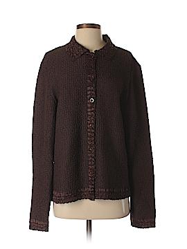 Saint Tropez West Long Sleeve Button-Down Shirt Size L