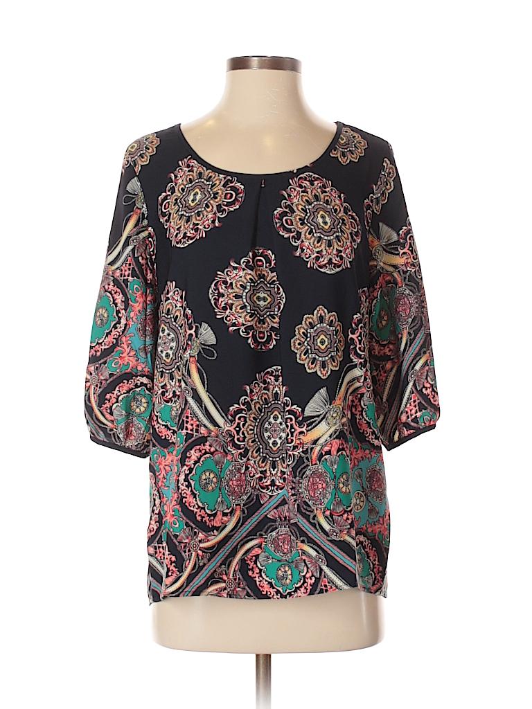 Fab'rik Women 3/4 Sleeve Blouse Size S