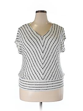 Knox Rose Short Sleeve Blouse Size XXL