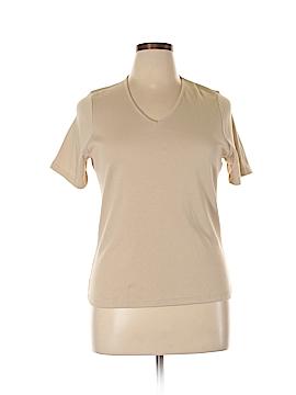 CAMBRIDGE Short Sleeve T-Shirt Size 0X (Plus)