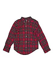 Funtasia! Too... Boys Long Sleeve Button-Down Shirt Size 10