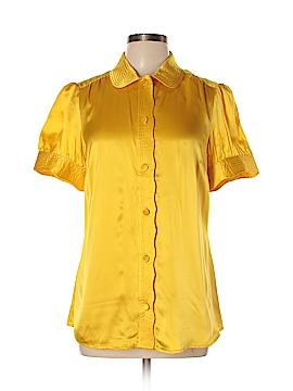 Banana Republic Short Sleeve Blouse Size L (Tall)