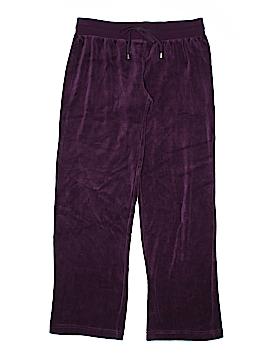 Lily White Velour Pants Size M