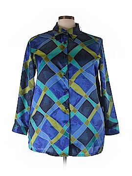 Avenue Long Sleeve Blouse Size 18/20 Plus (Plus)