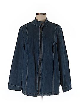 Liz & Me Denim Jacket Size 0X (Plus)