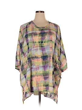 Melissa McCarthy Seven7 3/4 Sleeve Blouse Size 4X (Plus)