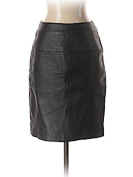 Newport News Leather Skirt Size 4