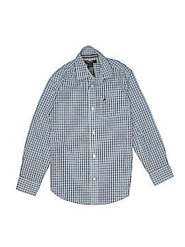 Nautica Long Sleeve Button-Down Shirt Size 10