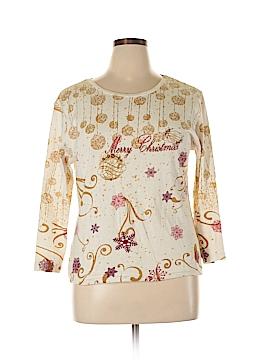 Jane Ashley 3/4 Sleeve T-Shirt Size XL (Petite)