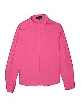 Averly Long Sleeve Button-Down Shirt Size M