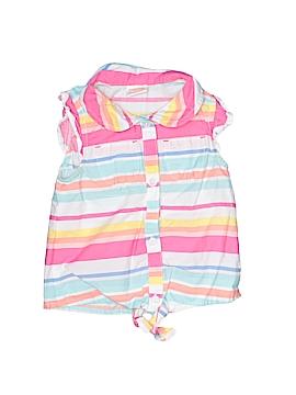 Gymboree Sleeveless Button-Down Shirt Size 12-18 mo