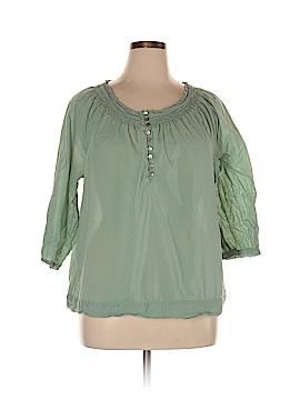 J.jill 3/4 Sleeve Blouse Size XL
