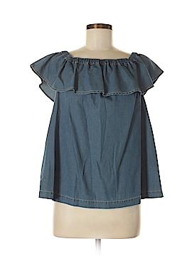 Chelsea28 Short Sleeve Blouse Size M