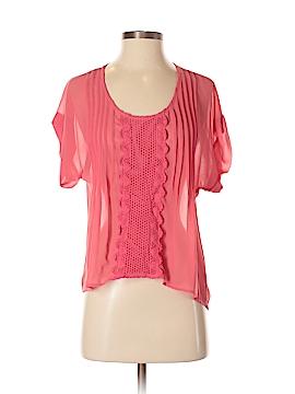 Bar III Short Sleeve Blouse Size XS