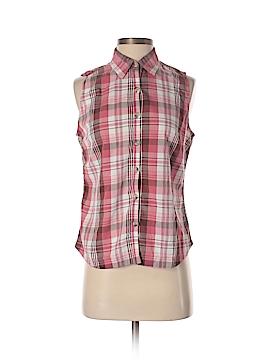 Columbia Sleeveless Button-Down Shirt Size M