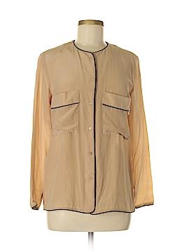 Mango Long Sleeve Blouse Size 6