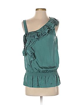 RobbI & Nikki Sleeveless Silk Top Size S