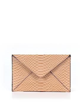 Loeffler Randall Leather Clutch One Size