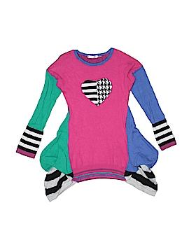Deux Par Deux Pullover Sweater Size 8