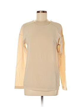 Adriano Goldschmied Long Sleeve Silk Top Size XS