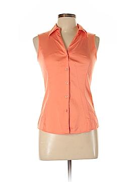 Antonio Melani Sleeveless Button-Down Shirt Size S