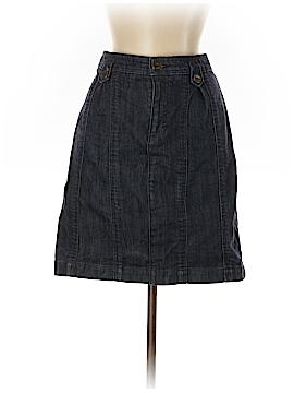 Pilcro and The Letterpress Denim Skirt 29 Waist