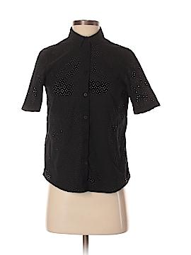 Steven Alan Short Sleeve Button-Down Shirt Size S