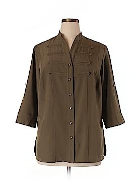 Kathy Che 3/4 Sleeve Blouse Size 14/16