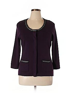 Carole Little Wool Cardigan Size 1X (Plus)