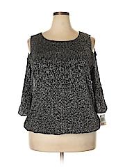 Alfani Women 3/4 Sleeve Blouse Size 2X (Plus)