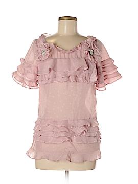Style Short Sleeve Blouse Size M